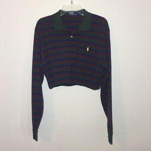 Polo Ralph Lauren Crop Long Sleeve